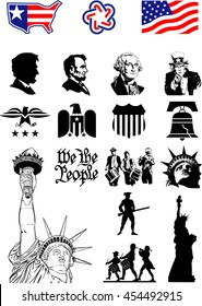 USA Symbols - Icon set