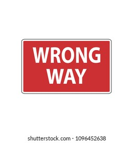 USA traffic road signs. Do not drive past this sign,turn around. vector illustration