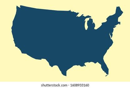 Usa Karte Bilder Stockfotos Und Vektorgrafiken Shutterstock