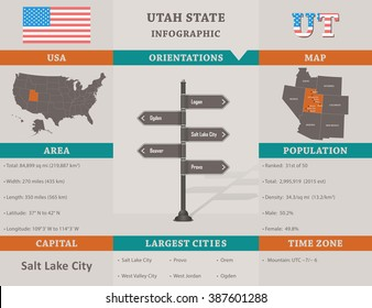 Salt Lake City Time Zone Map.United States Time Zone Map Stock Vectors Images Vector Art