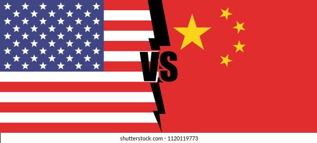 USA versus China