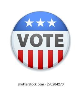 USA Vote button