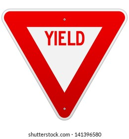 USA Yield Sign