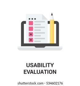 usability evaluation icon
