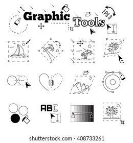 Usage examples of graphic tools. EPS 8