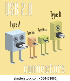 USB 2.0 connectors