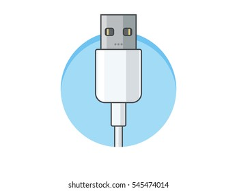 Usb Cable White