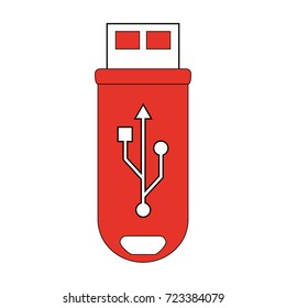usb drive icon image