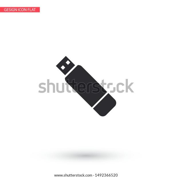 usb vector icon lorem ipsum illustration stock vector royalty free 1492366520 shutterstock