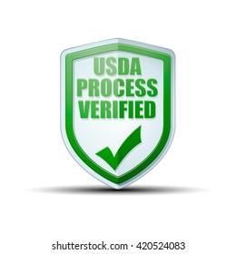 USDA Process Verified shield sign