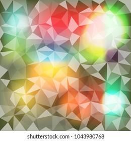 use geometric form create into object like daimond pattern
