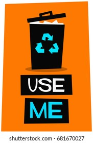 Use Me Bin Images Stock Photos Amp Vectors Shutterstock