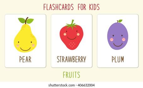 JAM Spanish Flashcards - Fruit & Vegetables