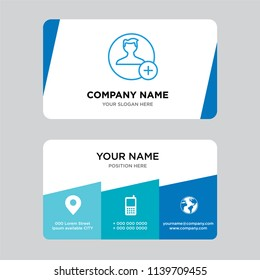 Id card template images stock photos vectors shutterstock user business card design template visiting for your company modern creative and clean identity wajeb Choice Image