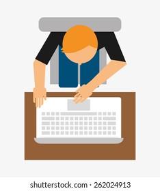 user icon design, vector illustration eps10 graphic