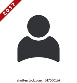 User Icon Vector flat design style