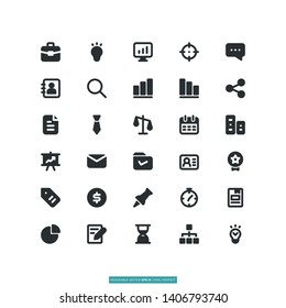 User Interface Icon Set Vector Illustration Logo Template