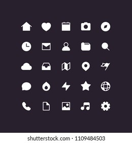 User Interface Ui Office Icons Set