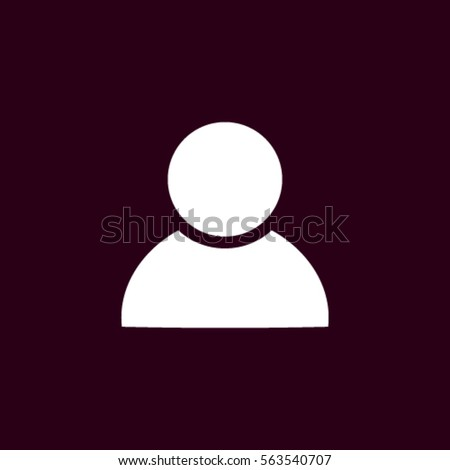 User Profile Group Outline Icon Symbol Stock Vector Royalty Free