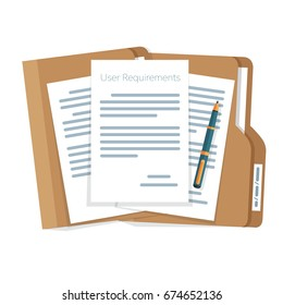 user requirements specifications document