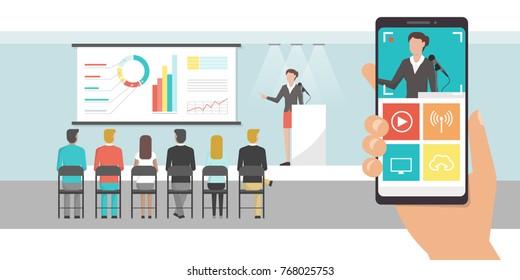 Corporate Live Event Stock Vectors, Images & Vector Art   Shutterstock