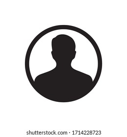 User sign  icon , person avatar icon design vector for multiple use