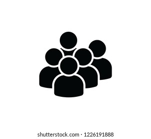 Users group icon vector