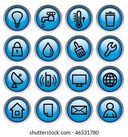 Utilities buttons