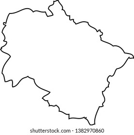 Uttarakhand Map Images, Stock Photos & Vectors | Shutterstock