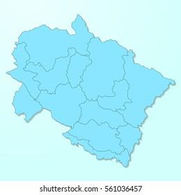uttarakhand Map\