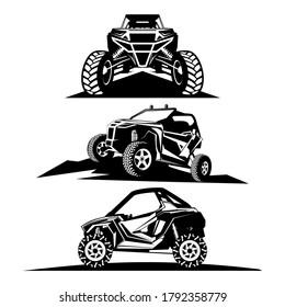 utv logo design icon vector
