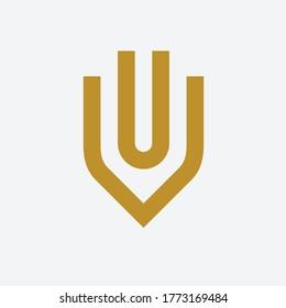 uv icon design concept vector illustration