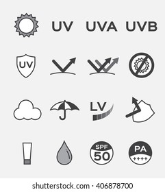 uv logo and icon vector , ultraviolet