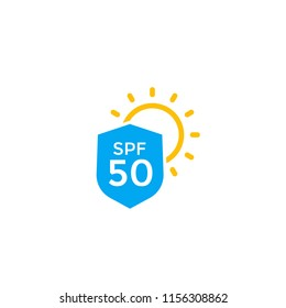 UV protection, SPF 50 icon