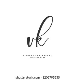 Vk Letter Logo Images, Stock Photos & Vectors | Shutterstock
