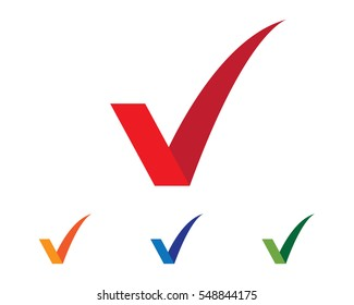 V Letter Logo Template vector icon illustration