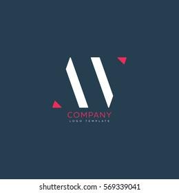 A V logo design for Corporate