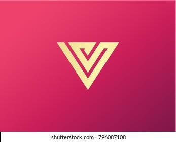 V logo vector