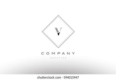 Apj P J Retro Vintage Simple Stock Vector 602270408 - Shutterstock