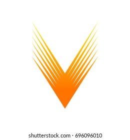 V Spark Logo Template