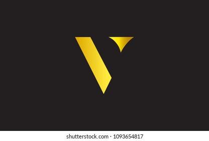 V VV Letter Initial Logo Design Template
