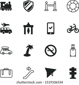 vacancy vector icon set such as: way, steam, minimal, palmtree, outdoor, accept, save, detector, warning, protect, lifeguard, gate, stanchion, break, arms, metal, para, exercise, step, event, badge
