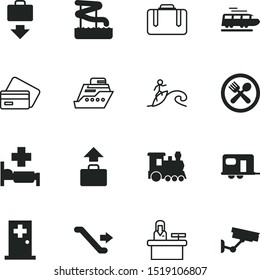 vacancy vector icon set such as: van, mall, crime, lifestyle, care, collecting, floating, trailer, simple, dinner, escalator, healthy, counter, receptionist, surfboard, stairway, cook, escalate