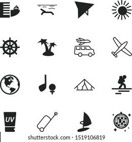 vacancy vector icon set such as: network, hand, flight, boat, tan, suntan, party, seacoast, ship, handwheel, automobile, game, glitter, seaman, retro, rolling, relax, skin, sunscreen, seaside, board