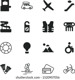 vacancy vector icon set such as: bike, vest, sketch, xray, save, kid, two, minimal, handicapped, nature, peak, abstract, suitcase, child, escalator, nobody, slides, access, exercise, journey, chair