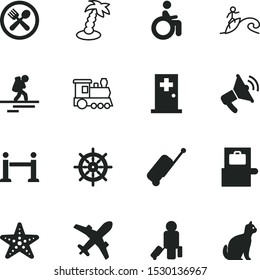 vacancy vector icon set such as: clinic, door, stanchion, landscape, fish, jet, breakfast, train, cargo, surfing, knock, voice, exclusive, one, set, loudspeaker, 10, drawing, disabled, surfer