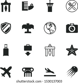 vacancy vector icon set such as: wildlife, serving, firewall, arrive, dweller, logistics, cutlery, cargo, stone, international, handbag, network, wheels, space, cafe, diner, starfish, marine, tower