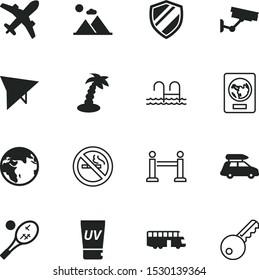 vacancy vector icon set such as: round, habit, tan, logistics, care, uv, badge, coco, close, sunlight, flight, game, sports, fence, prohibition, peak, information, identity, skin, toxic, tennis