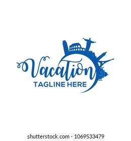 Vacation Logo Design