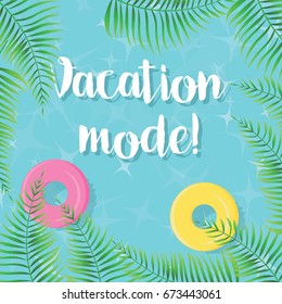 Vacation Mode! - vector illustration, eps10